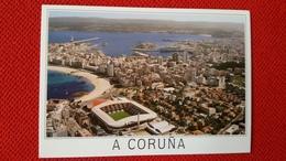 A La Coruna Riazor Cartolina Stadio Postcard Stadion AK Carte Postale Stade Estadio Stadium - Fútbol