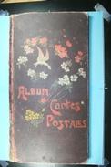 Ancien Album Pour 180 Cartes Postales (30 Pages X 6 Cartes) - Matériel