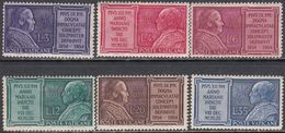 Vaticano 0194/199 ** MNH. 1954 - Vaticano (Ciudad Del)