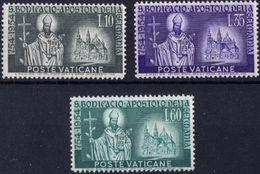 Vaticano 0210/212 ** MNH. 1955 - Vaticano (Ciudad Del)