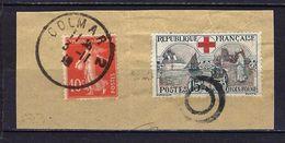 """FR YT 156 """" Croix-Rouge """" 1918 CAD France Et Annulation Suisse !!! - Usados"""