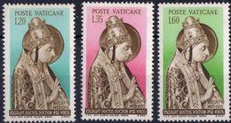 Vaticano 0215/217 ** MNH. 1955 - Vaticano (Ciudad Del)