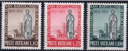 Vaticano 0218/220 ** MNH. 1955 - Vaticano (Ciudad Del)
