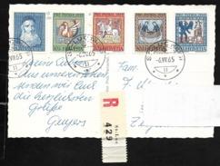 SAINT LUC VS Siders Anniviers Pro Patria Briefmarken Ganzer Satz 1965 - VS Wallis