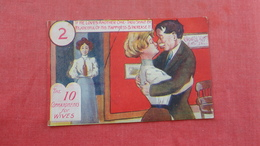 Embossed The 10 Commandments For Wives  Ref 2696 - Marriages