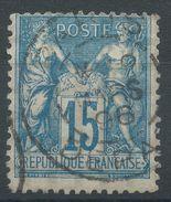 Lot N°37282   N°101, Oblit Cachet à Date De PARIS DEPART - 1876-1898 Sage (Type II)