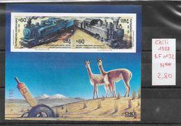 Train - Chili BF N°32 1988 ** - Trains