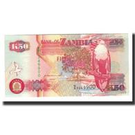 Zambie, 50 Kwacha, 1992, KM:37a, NEUF - Zambie