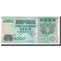 Ghana, 5000 Cedis, KM:31c, 1996-02-23, SPL+ - Ghana
