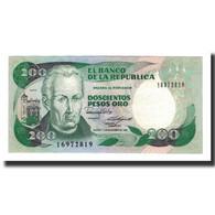 Colombie, 200 Pesos Oro, 1988-11-01, KM:429d, NEUF - Colombie
