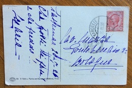 KARERSEE (LAGO DI CAREZZA) Annullo AUSTRIACO DEL 20/7/20  SU CARTOLINA    PER BOLOGNA - Storia Postale