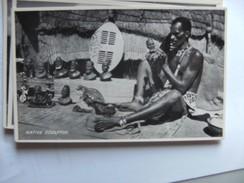 Zuid Afrika South Africa A Native Sculptor - Zuid-Afrika