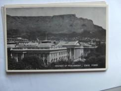 Zuid Afrika South Africa Cape Town Houses Of Parliament - Zuid-Afrika