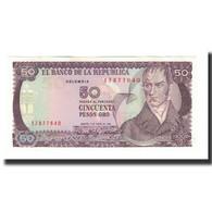 Colombie, 50 Pesos Oro, 1986-01-01, KM:425b, NEUF - Colombie