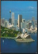 °°° 8097 - AUSTRALIA - AERIAL VIEW OF SIDNEY OPERA HOUSE - 1984 With Stanps °°° - Sydney