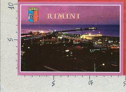 CARTOLINA VG ITALIA - RIMINI - Scorcio Panoramico Notturno - 10 X 15 - ANN. 1993 - Rimini