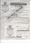 13 - Bouches-du-rhône - SALON-DE-PROVENCE - Facture VUICHARD - Huiles D'olives - Savons - 1926 - REF 76A - France