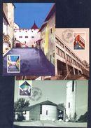 LIECHTENSTEIN - Annata Completa 1987 Maximum Karte - Liechtenstein