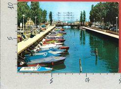 CARTOLINA VG ITALIA - RICCIONE (RM) - Porto Canale - 10 X 15 - ANN. 1966 - Rimini
