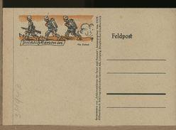 GERMANIA - 1943 - FELDPOST - FANTERIA IN MARCIA - Brieven En Documenten