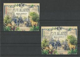 D 2108.Hungary 2016 The 150-YEAR-old Budapest Zoo Special Edition, MNH Block - Unused Stamps