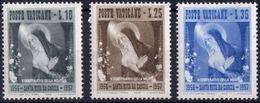 Vaticano 0227/229 ** MNH. 1956 - Vaticano (Ciudad Del)