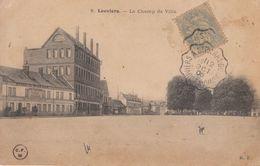 Voyagée 1906 - CPA - Louvier - Le Champ De Ville + Tàd Courriers Convoyeurs Lignes - FRANCO DE PORT - Louviers