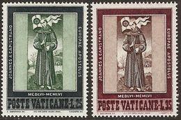 Vaticano 0232/233 ** MNH. 1956 - Vaticano (Ciudad Del)