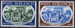 Vaticano 0245/246 ** MNH. 1957 - Vaticano (Ciudad Del)