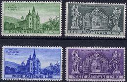 Vaticano 0247/250 ** MNH. 1957 - Vaticano (Ciudad Del)