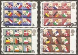 Great Britain 1979 SG 1083-06 European Assembly Fine Used - 1952-.... (Elizabeth II)