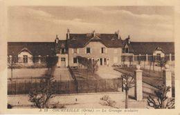 CPA - Courteille - Le Groupe Scolaire - RARE (jamais Proposée) - FRANCO DE PORT - France