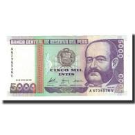 Pérou, 5000 Intis, 1988-06-28, KM:137, NEUF - Pérou