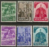 Vaticano 0293/298 ** MNH. 1960 - Vaticano (Ciudad Del)