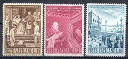 Vaticano 0299/301 ** MNH. 1960 - Vaticano (Ciudad Del)