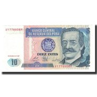 Pérou, 10 Intis, KM:129, 1987-06-26, NEUF - Pérou