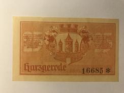 Allemagne Notgeld Harzgerode 25 Pfennig - [ 3] 1918-1933 : Weimar Republic