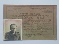 1er RADA Ministère De La Guerre Et De La Marine, Brevet Militaire Conduite D'Automobiles De L'Armée Ronner Robert Troyes - Documents