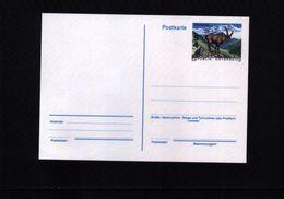 Austria / Oesterreich Michel P 487 Interesting Ibex Postcard MNH - Selvaggina