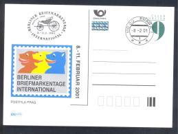 Czech Republic 2000 Postal Stationery Card:  Castle Schloss Architecture Klašterec Castle; Agara 2000 - Castles