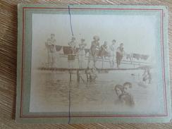 Photo Originale, Natation Baignade Maillot Ponton - Lieux