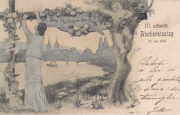 Abstisnententag - Dem Mutigen Der Sieg! - 1900 - Selten     (P-82-20406) - Evénements