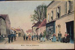 77 - MITRY MORY - Rue De Villeparisis - Cafe - Devanture - Couleur - Mitry Mory