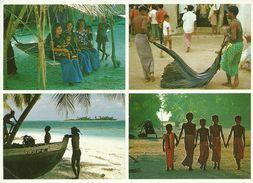 Maldives, Village, Scorci Panoramici E Scene Di Vita Quotidiana - Maldive