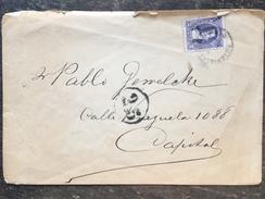 B3 Argentinien Argentina Argentine 1907 Ortsbrief Von Buenos Aires - Argentina