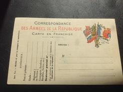 Correspondance Militaire - 6 Drapeaux - Franchise Militaire 1914-1918 - Poststempel (Briefe)