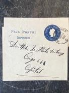 B3 Argentinien Argentina Argentine Ganzsache Stationery Entier Postal Ortsstreifbandausschnitt Von Buenos Aires - Postal Stationery
