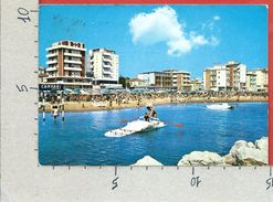 CARTOLINA VG ITALIA - RIMINI - VISERBA - Alberghi Visti Dal Mare - 10 X 15 - ANN. 1971 - Rimini