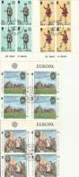 FRANCOBOLLI ISLE OF MAN 4 QUARTINE TIMBRO FDC EUROPA (FB168 - Isola Di Man