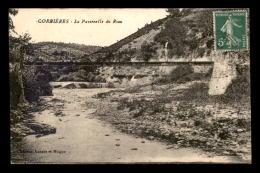 04 - CORBIERES - LA PASSERELLE DU RIOU - Francia